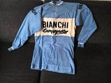 Campagnolo Bianchi Radtrikot Jersey Retro Vintage