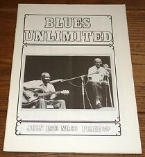BLUES UNLIMITED MAGAZINE NO 93 1972 MICK BAKER CHICAGO BOB GARY DAVIS HOUND DOG