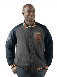 Chicago Bears Super Bowl Champions Varsity Commemorative Jacket Men's Large