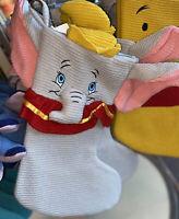 Disney Parks Dumbo Knit Christmas Holiday Stocking NEW