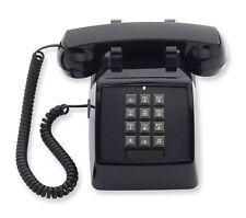 Cetis Aegis 2510-Bk 25002 Retro Corded Push Button Desk Basic Phone Black New