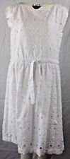BOUTIQUE MOSCHINO, Women's White Dress, UK 12 NWT - RRP £355