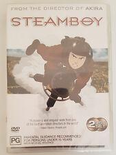 Steamboy (2006) 2 Disc DVD Set **Brand New** Katsuhiro Otomo