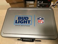 New Nfl Super Bowl 54 Liv Bud Light Metal Cooler Built In Bluetooth Speakers Lmt