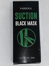 Vassoul Black Mask, Deep Pore Cleansing PurifyIng Peel Off Blackhead Mask 1.67oz