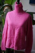Worthington 100% cashmere pink turtleneck sweater L