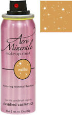 AERO MINERALE MAKEUP MIST SPRAY ON BRONZER SHIMMER Classified COSMETICS Malibu