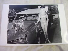 MONKEE MOBILE AN MISS HURST LINDA VAUGHN  11 X 17  PHOTO  PICTURE