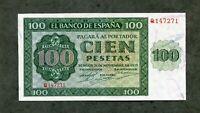 BILLETE 100  PESETAS 1936    SERIE  Q147271  EBC