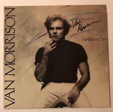 Van Morrison Signed Wavelength Vinyl LP JSA COA #Z04261 Autographed