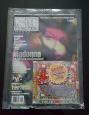 MADONNA ULTRA RARE ITALIAN HIT MANIA MAGAZINE 2005 WITH FREE 2006 CD SEALED !!!