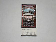 Atlanta Falcons vs LA Rams NFL Ticket Stub-1992-Andre Rison -Michael Haynes