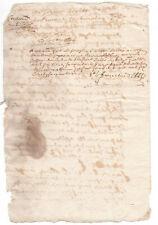 c1600 damaged manuscript document red ink signatures