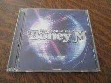 cd album the greatest hits BONEY M