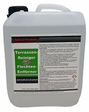Flechtenentferner und Terrassenreiniger 10 Liter Kanister