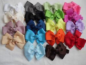 "4"" bow headband shimmery hairband babies girls"