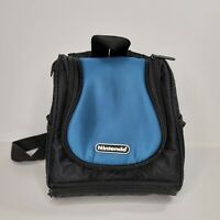 Nintendo Gameboy DS 3DS Mini Backpack Carrying Protective Travel Case Bag Blue