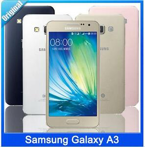 Samsung Galaxy A3 4G Duos SM-A3000 Dual SIM Android 8MP 4.5'' Phone Double LTE