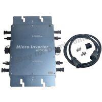 Waterproof 1200W Grid Tie Inverter DC22V-50V to AC110V/220V Solar Inverter IP65