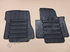 New Genuine Nissan NV200 Tailored Front Rubber Floor Mat Set Mats KE751JX089