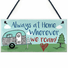 Caravan Plaque Novelty Camping Camper Holiday Sign Mum Nan Christmas Gifts