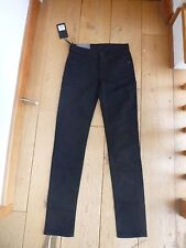 7 FOR ALL MANKIND BLACK ROXANNE CLASSIC SKINNY SMART JEANS 23 WAIST BNWT
