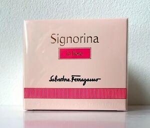 BNIB Salvatore Ferragamo Signorina In Fiore 30ml Eau De Toilette Spray