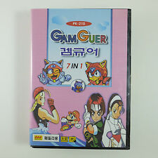 KOREAN Game Guer 7-in-1 (Nintendo Famicom) Import Sonic Snow Bros Final Fight