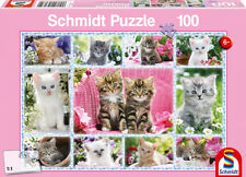 Schmidt Kittens Childrens Jigsaw Puzzle 100-piece