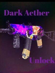 Call of Duty Cold War Dark Aether camo lobby PS4 / PC PS5 Max Weapons INCLUDED!