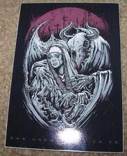 "GODMACHINE Sticker 3 X 4"" Weeping Woman decal like poster art print"