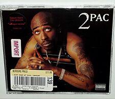 2Pac I Ain't Mad 4 Trk SEALED TUPAC Uk IMPORT CD DEATH ROW RAP nwa 2pac lp snoop