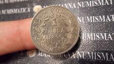 STATO PONTIFICIO PAPAL STATES LIRA 1866 PIO IX PIUS IX ARGENTO SILVER