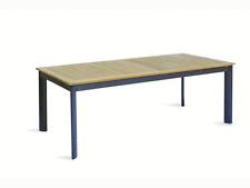 MOIRTT64 TAVOLO ALICANTE ALLUNGABILE 220/320 x 100 cm  alluminio e teak naturale