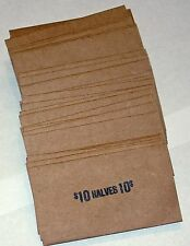 50 HALF DOLLAR COIN OLD STYLE FLAT WRAPPERS