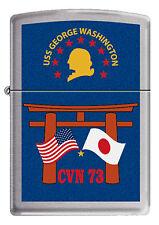 USS George Washington (CVN-73)  Zippo MIB JAPAN BC