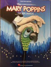 Mary Poppins The Musical-Disney-Original Music and Lyrics- The New Musical PB