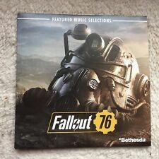 Fallout 76 - Game SOUNDTRACK MUSIC SELECTIONS CD NEU!!!
