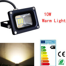 10W LED Spot Light Warm White Flood Light IP65 Outdoor Garden Lamp DC 12V VE