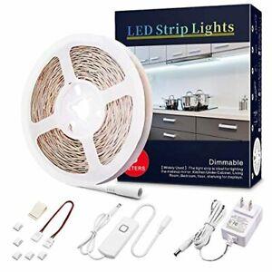 LED Strip Lights Dimmable Rope Lights 12V LED Light Strip White Under Cabinet