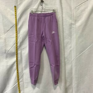 Nike Mens Sptcas Fleece Activewear Tapered Lag Purple Jogger Pant Size X Small