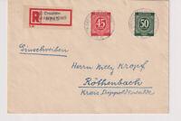 Gemeinsch.Ausg. Mi. 931/32,Not-R-Dresden-Bad Weißer Hirsch - Röthenbach 14.9.46