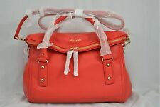 NWT Kate Spade Cobble Hill Small Leslie Leather Bag Satchel Red