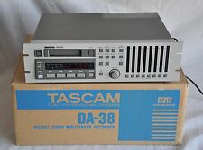 Tascam DA-38 Digital 8 Track Recorder 296 total hrs MINT CONDITION FREE SHIP