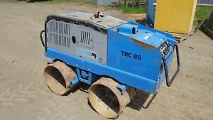 WEBER TRC86 trench roller compactor with remote control lombardini diesel 90hrs