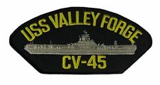 USS VALLEY FORGE CV-45 PATCH USN NAVY SHIP ESSEX CLASS AIRCRAFT CARRIER MERCURY