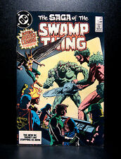 COMICS: DC: Saga of the Swamp Thing #24 (1980s), Justice League app (alan moore)