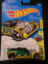 HW HOT WHEELS 2016 HW TOOL-N-1 #4/5 FAST CASH GREEN HOTWHEELS VHTF