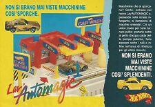 X4318 Hot Wheels Lav'AUTOMAGIC - Mattel - Pubblicità 1989 - Advertising