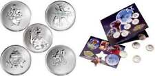 (2) RCM SEALED E.T EXTRA TERRESTRIAL REELCOINZ MEDALLION SETS